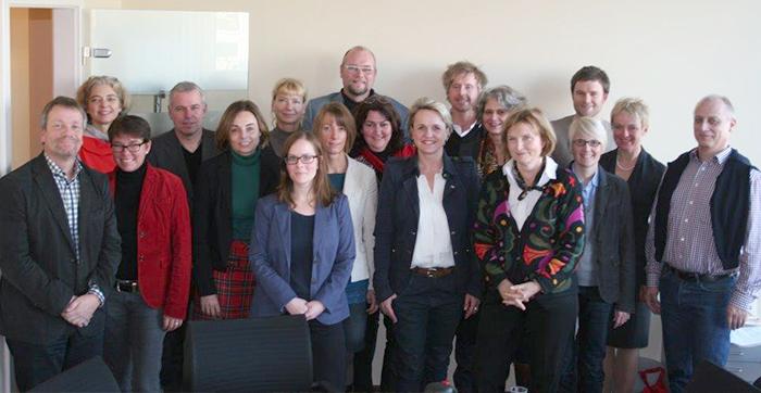 Gründungsmitglieder des Fachbereichstages Therapiewissenschaften